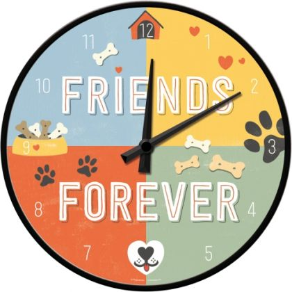 Ceas perete Friends Forever