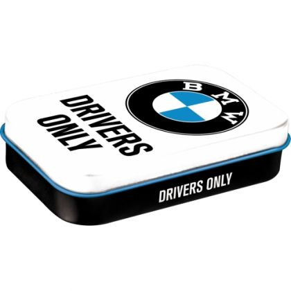 Cutie de buzunar metalica XL BMW - Drivers Only