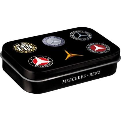 Cutie de buzunar metalica XL Mercedes-Benz - Logo Evolution
