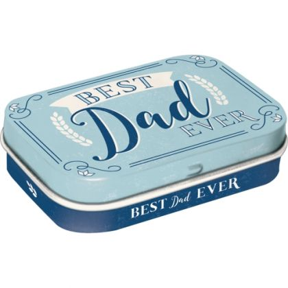 Cutie metalica de buzunar Best Dad
