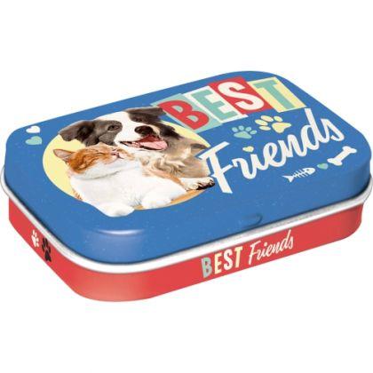Cutie metalica de buzunar Best Friends Cat & Dog