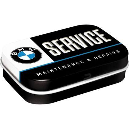 Cutie metalica de buzunar BMW Service