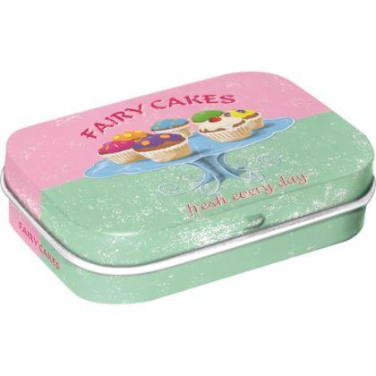 Cutie metalica de buzunar Fairy Cakes - Fresh every Day