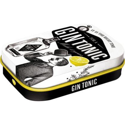 Cutie metalica de buzunar Gin Tonic