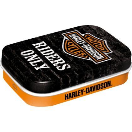 Cutie metalica de buzunar Harley-Davidson Riders Only