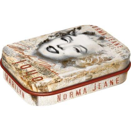 Cutie metalica de buzunar Marilyn Monroe - Norma Jean