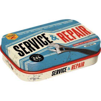 Cutie metalica de buzunar Service and Repair