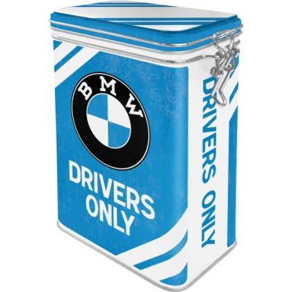 Cutie metalica etansa BMW Drivers Only