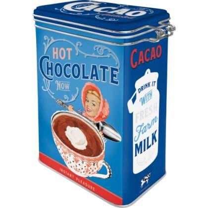 Cutie metalica etansa Cacao Addicted
