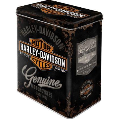 Cutie metalica L Harley-Davidson Genuine