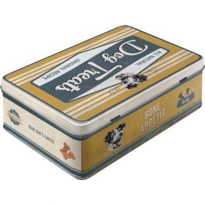 Cutie metalica plata PfotenSchild - Dog Bisquits