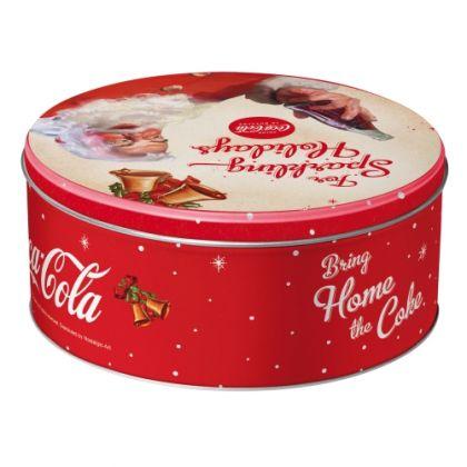 Cutie metalica Rotunda Coca-Cola For Sparkling Holidays