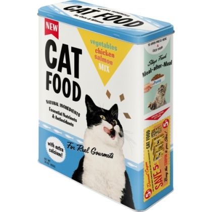 Cutie metalica XL Cat Food