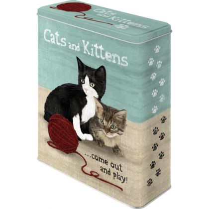 Cutie metalica XL Cats and Kittens