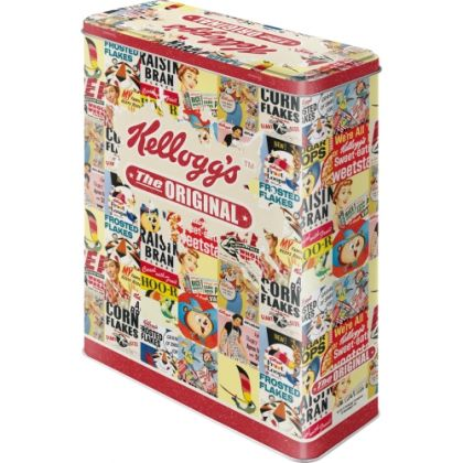Cutie metalica XL Kellogg's The Original Collage