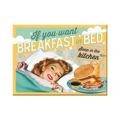 Magnet Breakfast in Bed