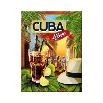 Magnet Cuba Libre
