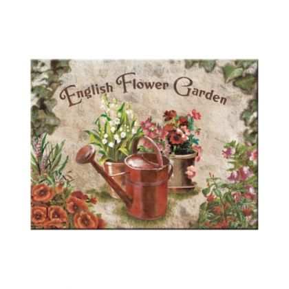 Magnet English Flower Garden - Red