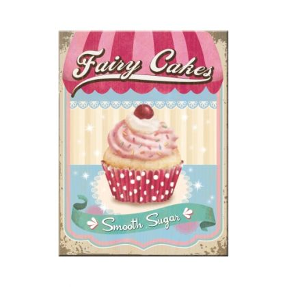 Magnet Fairy Cakes - Smooth Sugar