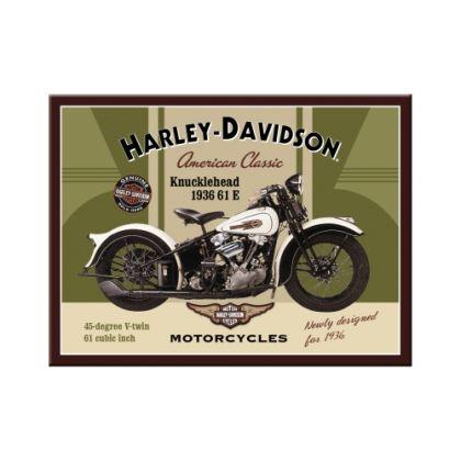 Magnet Harley-Davidson Knucklehead