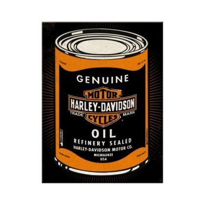 Magnet Harley-Davidson Oilcan