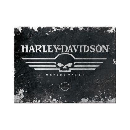 Magnet Harley-Davidson Skull Logo