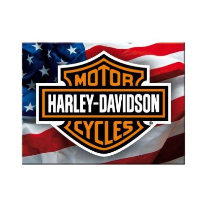 Magnet Harley-Davidson USA