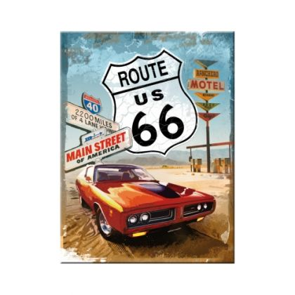Magnet Route 66 - Red Car