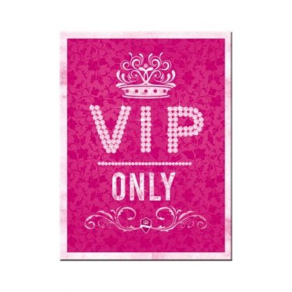 Magnet VIP Only pink