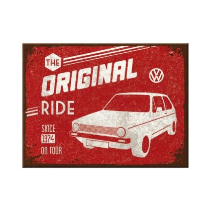 Magnet VW Golf - The Original Ride