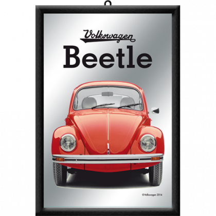 Oglinda VW - Volkswagen Beetle - Red