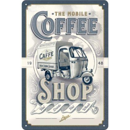 Placa 20x30 Ape - Coffee Shop