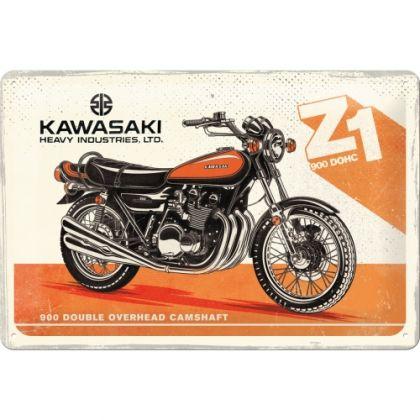 Placa 20x30 Kawasaki - Motorcycle Z1