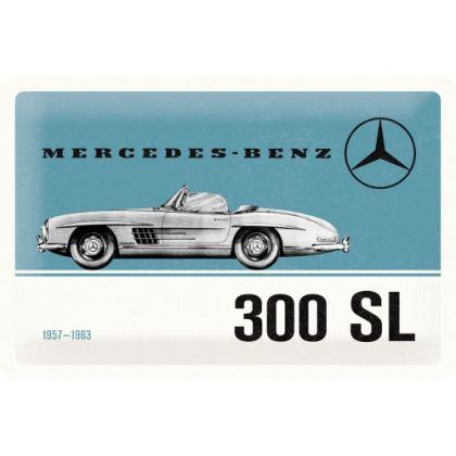 Placa 20x30 Mercedes-Benz 300 SL