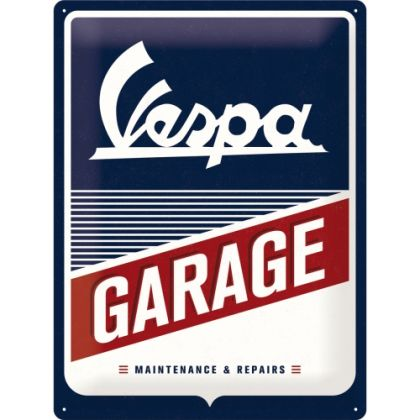 Placa 30x40 Vespa - Garage