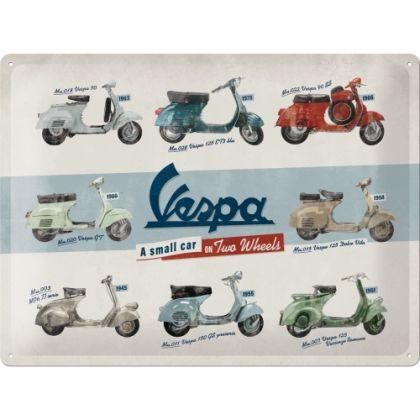Placa 30x40 Vespa - Model Chart