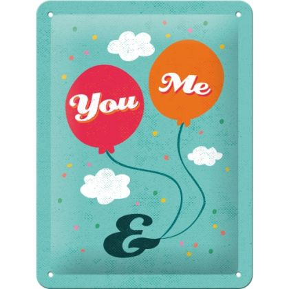 Placa metalica 15X20 You&Me