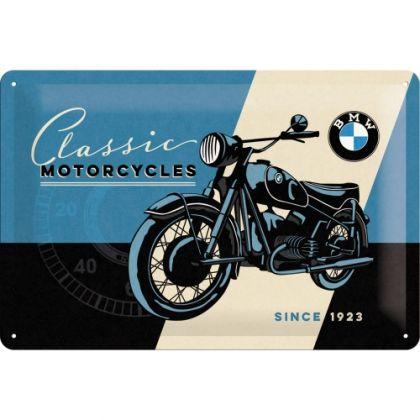 Placa metalica 20X30 BMW - Classic
