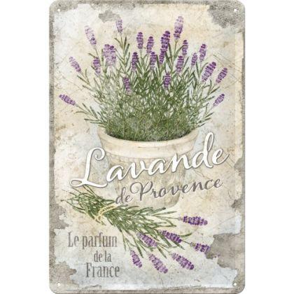 Placa metalica 20X30 Lavande de Provence