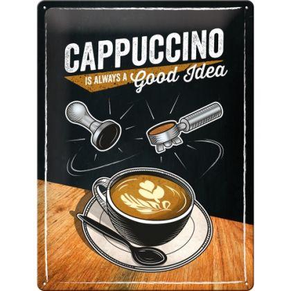 Placa metalica 30X40 Cappuccino Good Idea