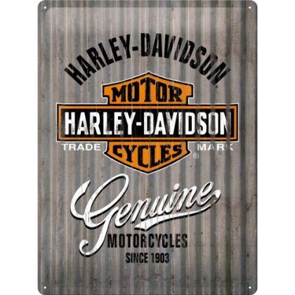 Placa metalica 30x40 Harley-Davidson Metal Wall