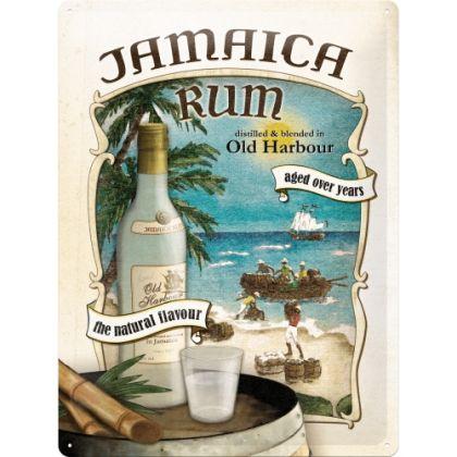 Placa metalica 30X40 Jamaica Rum