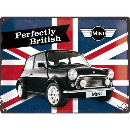 Placa metalica 30X40 Mini - Perfectly British
