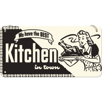 Placa metalica cu snur 10x20 Kitchen