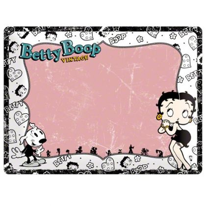 Placa metalica tip Nu uita sa 30X40 Betty Boop