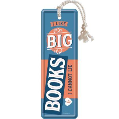 Semn de carte metalic Big Books