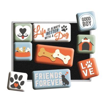 Set de magneti Love Dog