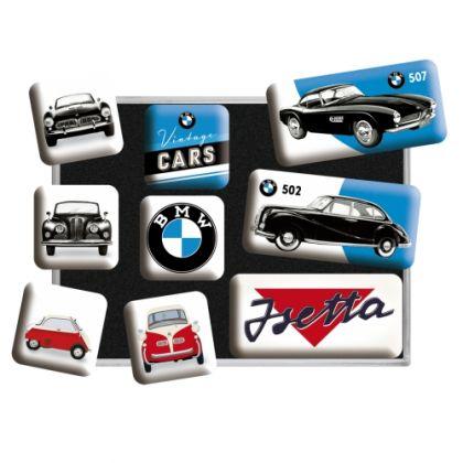 Set magneti BMW Vintage Cars