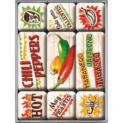 Set Magneti Chili Peppers
