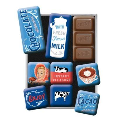 Set Magneti Chocolate Addicted